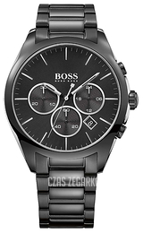 Hugo Boss Onyx Czarny/Stal Ø44 mm 1513365