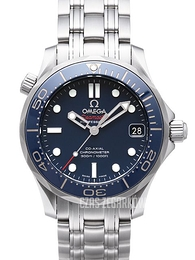 Omega Seamaster Diver 300m Co-Axial 36.25mm Niebieski/Stal Ø36.25 mm 212.30.36.20.03.001