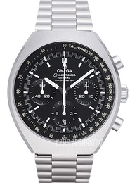 Omega Speedmaster Mark II Co-Axial Chronograph 42.4x46.2mm Czarny/Stal Ø42.4 mm 327.10.43.50.01.001