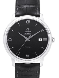 Omega De Ville Prestige Co-Axial 39.5mm Czarny/Skóra Ø39.5 mm 424.13.40.20.01.001