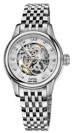 Oris Culture Srebrny/Stal Ø31 mm 01 560 7687 4019-07 8 14 77