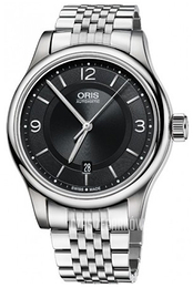 Oris Culture Czarny/Stal Ø42 mm 01 733 7594 4034-07 8 20 61