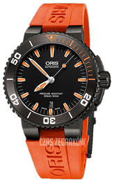 Oris Diving Czarny/Guma Ø43 mm 01 733 7653 4259-07 4 26 32GEB