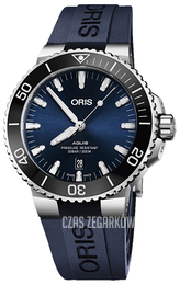 Oris Diving Niebieski/Guma Ø43.5 mm 01 733 7730 4135-07 4 24 65EB