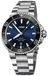Oris Diving Niebieski/Stal Ø43.5 mm 01 733 7730 4135-07 8 24 05PEB