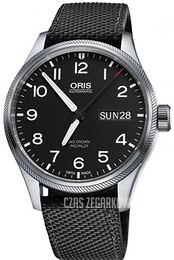 Oris Oris Aviation Czarny/Tkanina Ø45 mm 01 752 7698 4164-07 5 22 15FC