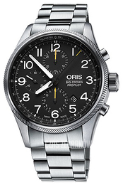 Oris Aviation Czarny/Stal Ø44 mm 01 774 7699 4134-07 8 22 19