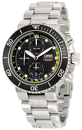 Oris Diving Czarny/Stal Ø46 mm 01 774 7708 4154-Set MB