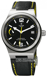 Tudor North Flag Czarny/Skóra Ø40 mm 91210n-0002