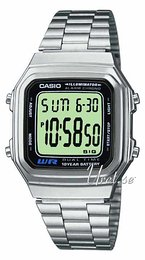 Casio Casio Collection Stal 41.2x34 mm A178WEA-1AES
