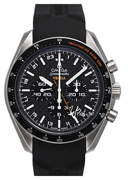Omega Speedmaster Hb-Sia Co-Axial GMT Chronograph Czarny/Tytan Ø44.25 mm 321.92.44.52.01.001