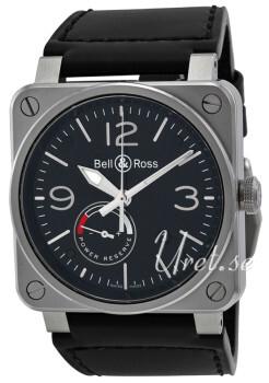 Bell & Ross BR 03-97 Czarny/Skóra