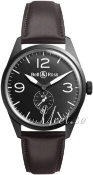 Bell & Ross BR 123 Czarny/Skóra Ø41 mm