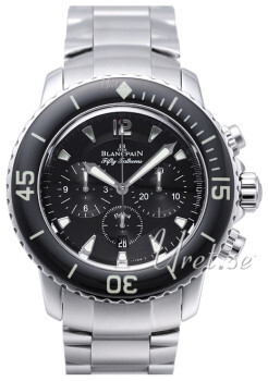 Blancpain Fifty Fathoms Czarny/Stal
