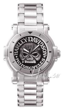 Bulova Harley-Davidson Czarny/Stal