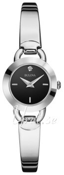 Bulova Diamond Czarny/Stal Ø23 mm