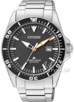 Citizen Promaster Sea Czarny/Stal