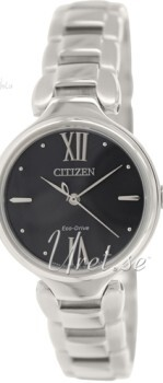 Citizen Elegance Ladies Czarny/Stal Ø28 mm