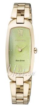 Citizen Elegance Ladies Zielony/Stal w odcieniu złota