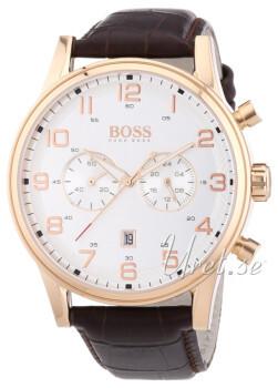 Hugo Boss Biały/Skóra