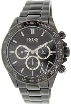 Hugo Boss Czarny/Stal