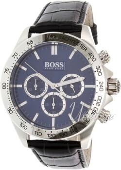 Hugo Boss Niebieski/Skóra