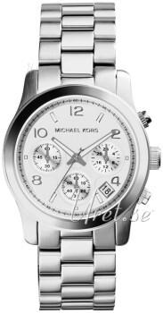 Michael Kors Chronograph Srebrny/Stal