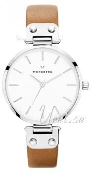 Mockberg Wera Biały/Skóra Ø34 mm