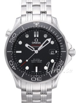 Omega Seamaster Diver 300m Co-Axial 41mm Czarny/Stal
