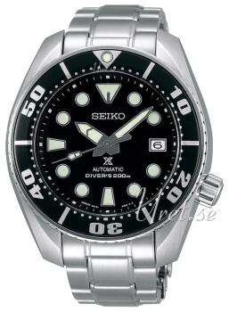 Seiko Prospex Czarny/Stal Ø45 mm