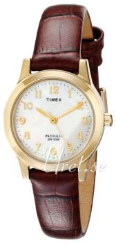 Timex Classic Elevated Biały/Skóra Ø20 mm