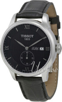 Tissot Tissot T-Classic Czarny/Skóra Ø39.3 mm