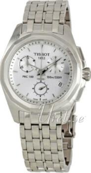 Tissot PRC 100 Srebrny/Stal