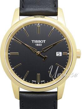 Tissot Czarny/Skóra Ø38 mm