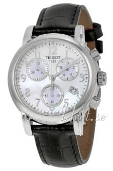 Tissot T-Classic DressSport Biały/Skóra Ø35 mm