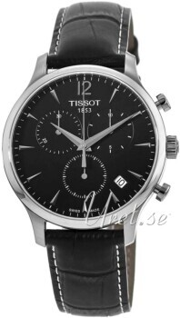 Tissot Tradition Czarny/Skóra Ø42 mm
