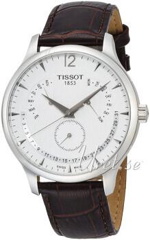 Tissot Tradition Biały/Skóra Ø42 mm