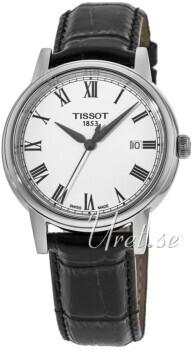 Tissot T-Classic Carson Automatic Biały/Skóra