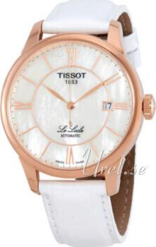 Tissot Le Locle Automatic Gent Biały/Skóra Ø39.3 mm