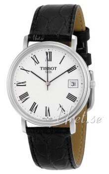 Tissot Luxury Biały/Skóra Ø34 mm