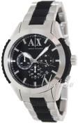 Emporio Armani Exchange Chronograph Czarny/Stal