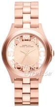 Marc by Marc Jacobs Henry Różowe złoto/Stal w kolorze różowego z