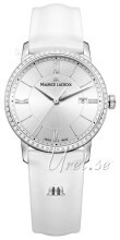 Maurice Lacroix Eliros Date Ladies Srebrny/Skóra Ø30 mm