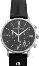 Maurice Lacroix Eliros Chronograph Czarny/Skóra