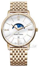 Maurice Lacroix Eliros Moonphase Biały/Stal w odcieniu złota Ø40