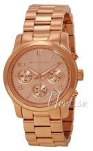 Michael Kors Runway Chronograph Różowe złoto/Stal w kolorze różo
