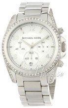 Michael Kors Runway with Glitz Srebrny/Stal Ø39 mm