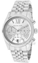 Michael Kors Lexington Chronograph Srebrny/Stal Ø38 mm