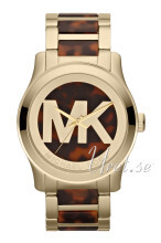 Michael Kors Logo Three-Hand Brązowy/Plastik Ø45 mm