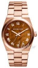 Michael Kors Brązowy/Stal w kolorze różowego złota